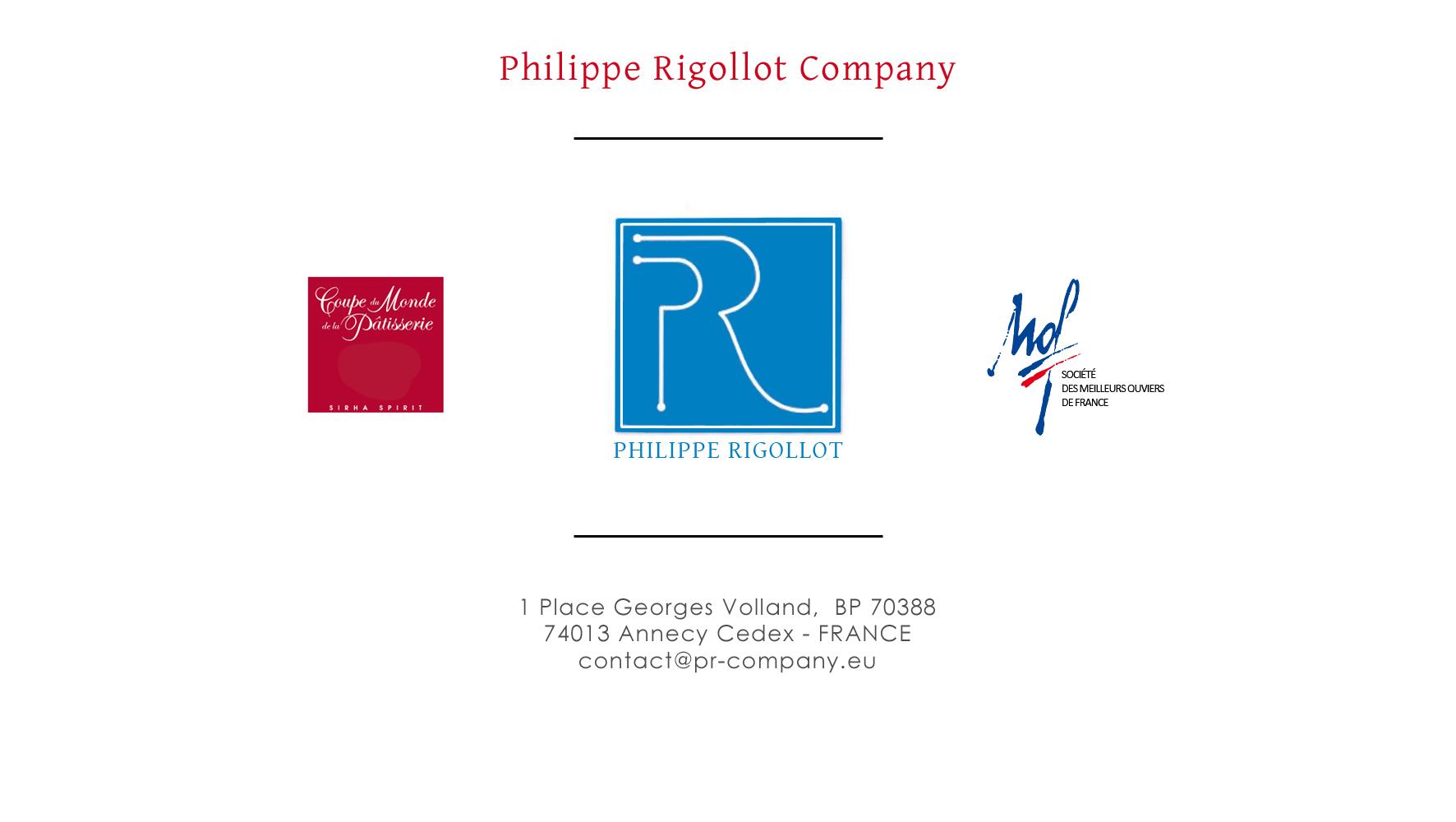 Phillipe Rigollot Company L'excellence au service de la gourmandise